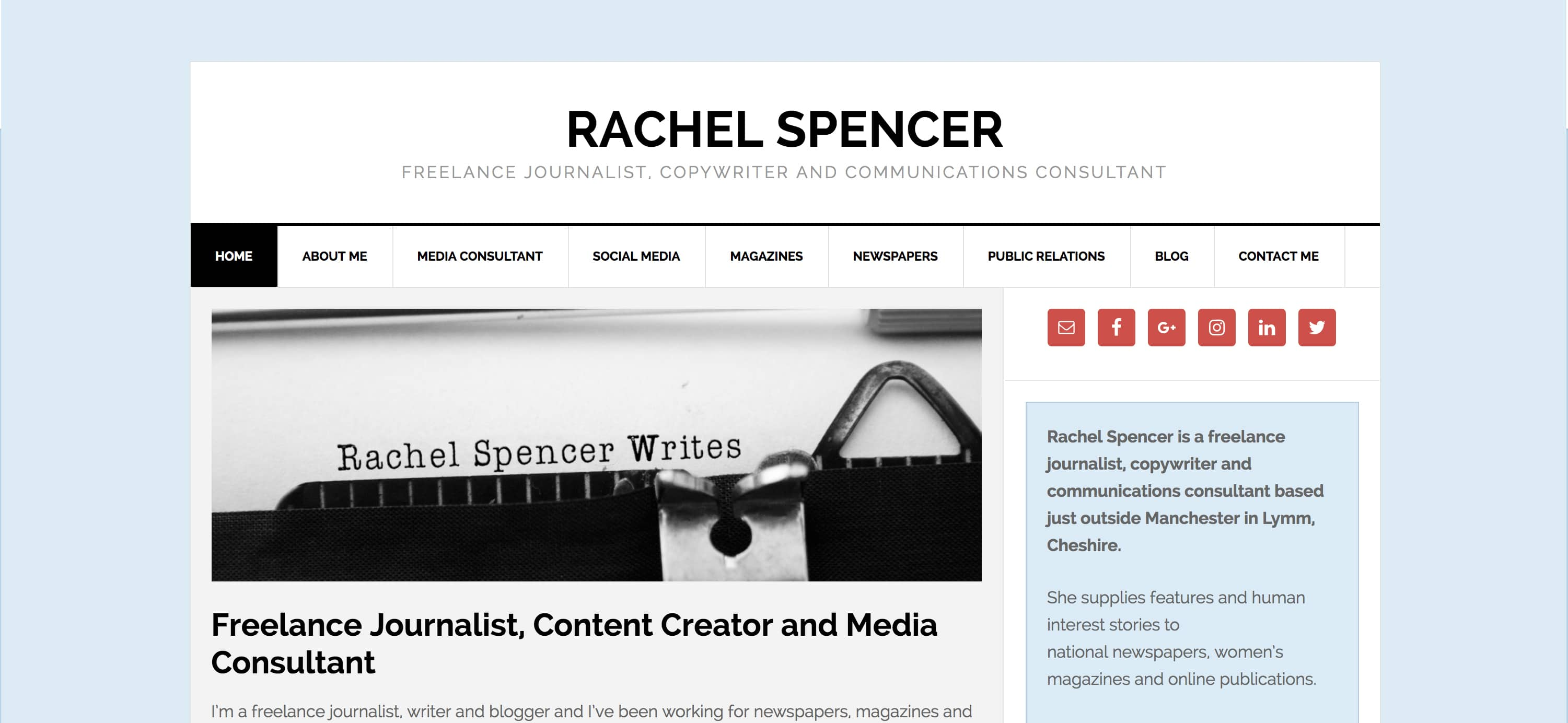 Rachel Spencer Writes Author Blog