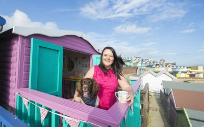 How Vicky Gunn swapped the boardroom for Millie's Beach Huts
