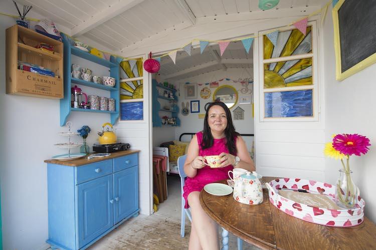 Vicky Gunn on founding Millie's Beach Huts