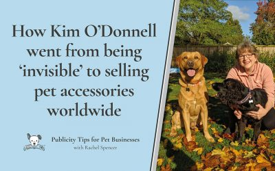 How Kim O'Donnell went from 'invisible' to global pet business