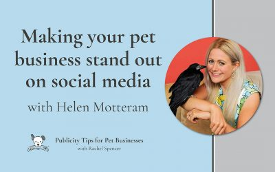 Make your pet business stand out on social media with Helen Motteram