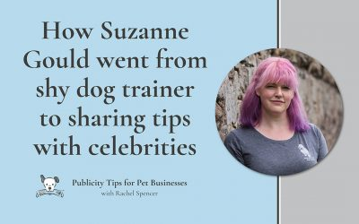 Suzanne Gould – from shy dog walker to trainer to the stars!