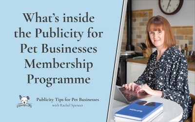 What's inside the Publicity for Pet Businesses Membership