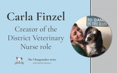 Carla Finzel's mission for every pet to access a District Vet Nurse
