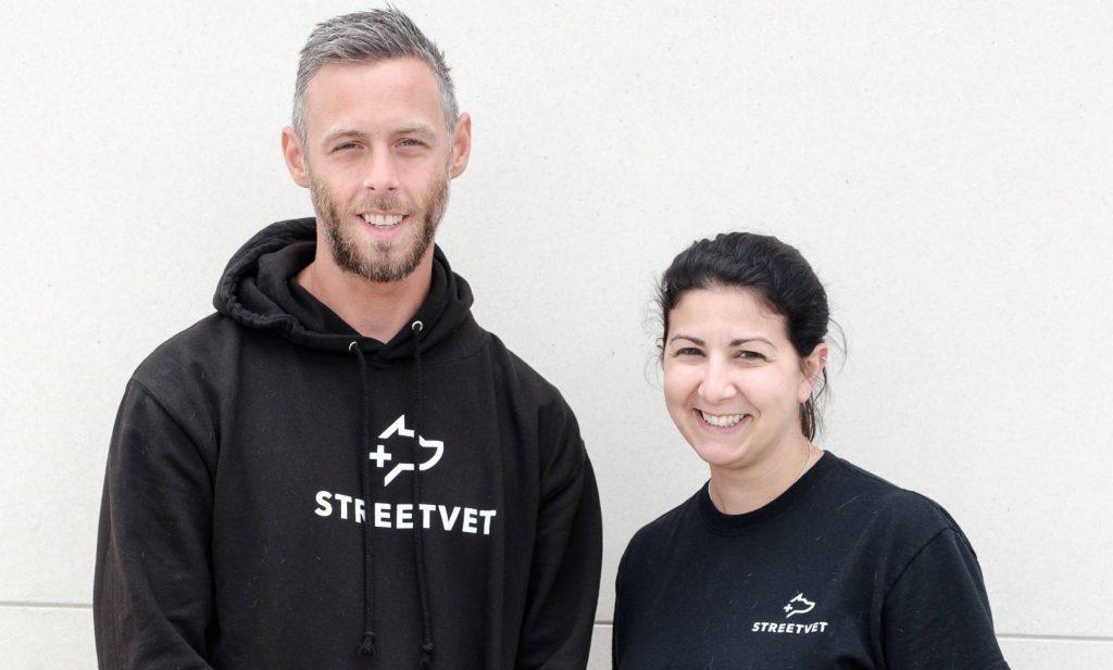 StreetVet co-founders Jade Statt and Sam Joseph