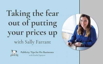 Taking the fear out of putting up prices with Sally Farrant