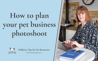 How to plan your pet business photoshoot