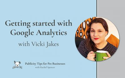 Getting started with Google Analytics with Vicki Jakes