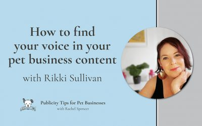 How to find your voice in your content with Rikki Sullivan