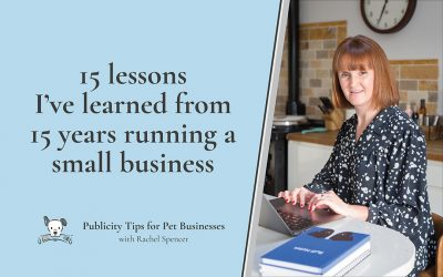 15 lessons I've learned in 15 years running a small business