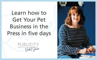 Learn how to Get Your Pet Business in the Press in five days
